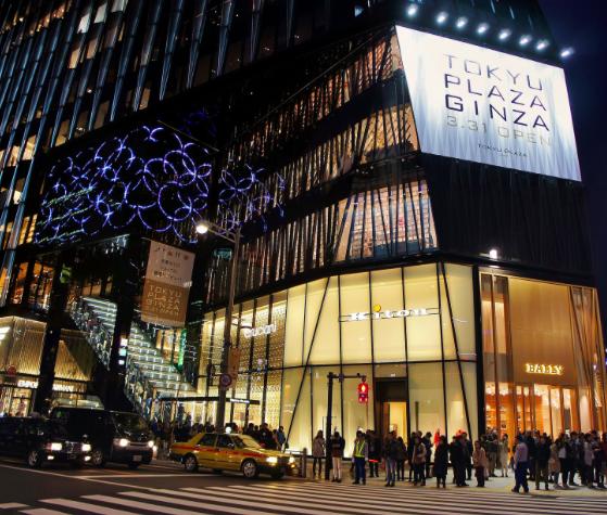 [通泰直擊] 從東京都內兩大新商場    嗅出零售百貨的新朝氣