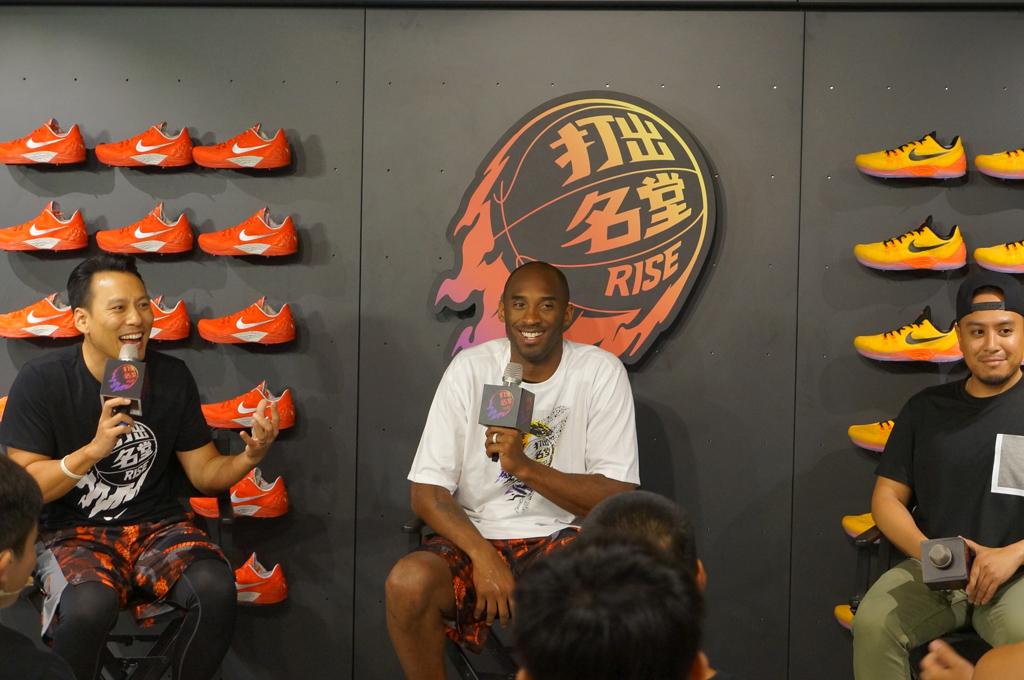 《#打出名堂 Kobe Bryant 見面會》大玩社群互動