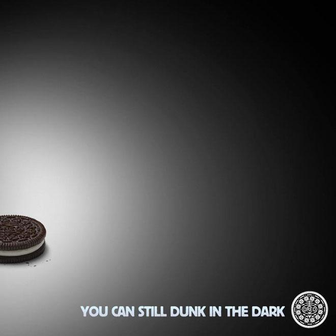 Oreo餅乾的及時性內容行銷