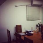 施工前,會議室一隅